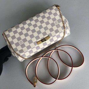 Grey/White L-Louis Vuitton Bags NWT